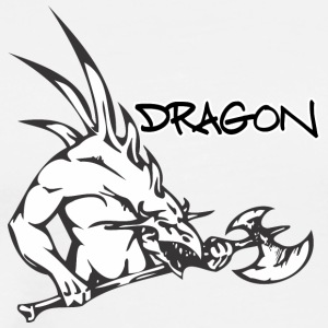 dragon_with_axe - Men's Premium T-Shirt