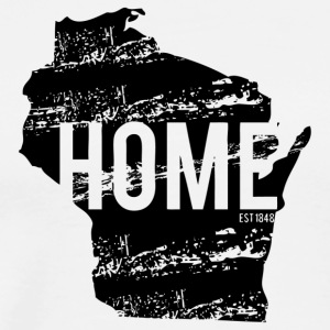 Wisconsin Home - Men's Premium T-Shirt