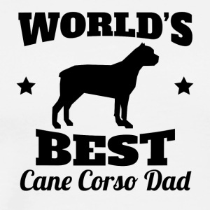 World's Best Cane Corso Dad - Men's Premium T-Shirt