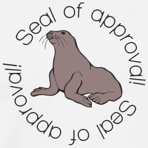 seal_of_approval_funny - Men's Premium T-Shirt