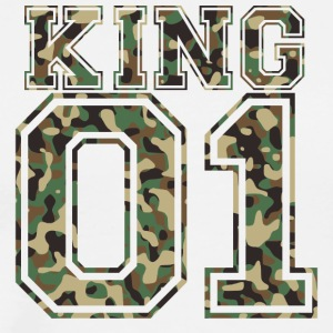 King_01_camo_2 - Men's Premium T-Shirt