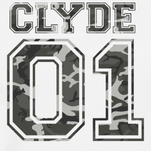 Clyde_01_camo_1 - Men's Premium T-Shirt