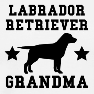 Labrador Retriever Grandma - Men's Premium T-Shirt