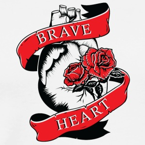 BRAVE HEART - Men's Premium T-Shirt