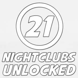 21 Years Old Nightclubs Unlocked - Men's Premium T-Shirt