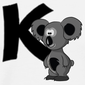 K Is For Koala Bear - Men's Premium T-Shirt