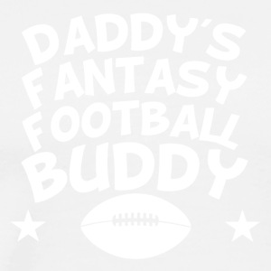 Daddy's Fantasy Football Buddy - Men's Premium T-Shirt