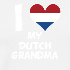 I Heart My Dutch Grandma - Men's Premium T-Shirt
