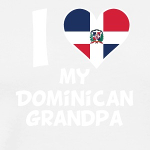 I Heart My Dominican Grandpa - Men's Premium T-Shirt