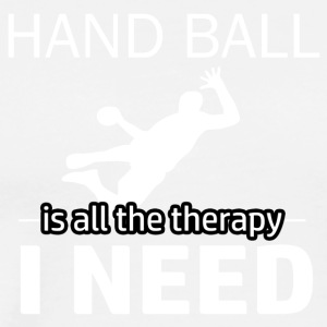Handball is my therapy - Men's Premium T-Shirt