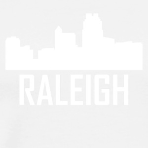 Raleigh North Carolina City Skyline - Men's Premium T-Shirt