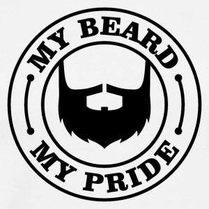 MY BEARD MY PRIDE - Men's Premium T-Shirt