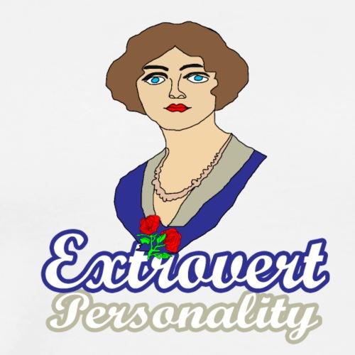 extrovert personality - Men's Premium T-Shirt