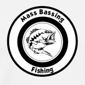 Mass Bassing Fishing - Men's Premium T-Shirt