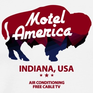 Indiana Of Motel - Men's Premium T-Shirt