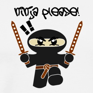 Ninja Please - Men's Premium T-Shirt