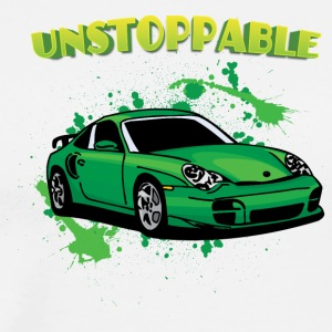Unstoppable_Green_porsche_911 - Men's Premium T-Shirt