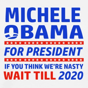 Michelle Obama 2020 designs - Men's Premium T-Shirt