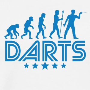 Retro Darts Evolution - Men's Premium T-Shirt