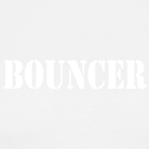 bouncer front - Men's Premium T-Shirt