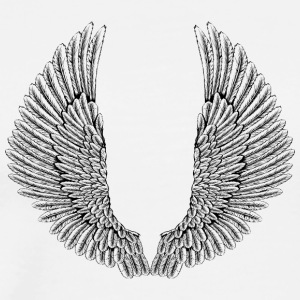 angelic-wings-vector - Men's Premium T-Shirt