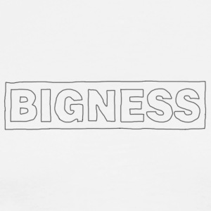 BIGNESS Scribble - Men's Premium T-Shirt