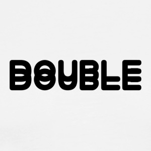 DOUBLE - Men's Premium T-Shirt