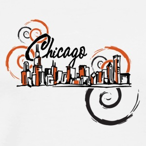 Chicago_Logo - Men's Premium T-Shirt