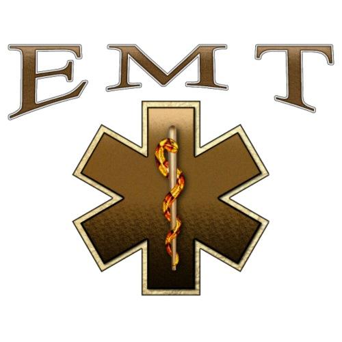 EMT (Brown) - Men's Premium T-Shirt