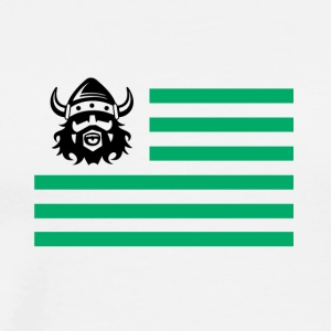 viking sign illustration - Men's Premium T-Shirt