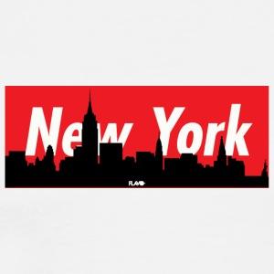 NYC SKYLINE - Men's Premium T-Shirt
