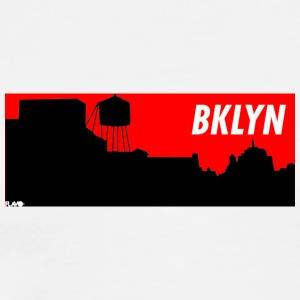 BRKLYN red - Men's Premium T-Shirt