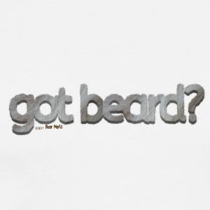 got beard?-Furry Fun-Bear Pride-Silverback - Men's Premium T-Shirt