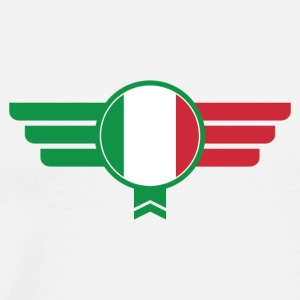 Italy Italia Badge Emblem - Men's Premium T-Shirt