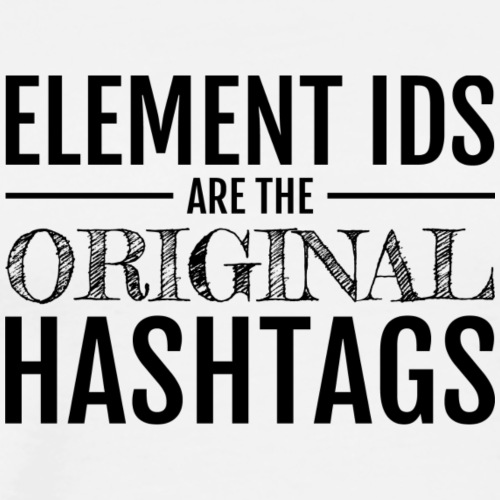 The Original Hashtags - Men's Premium T-Shirt