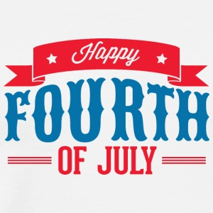happy_fourth_of_july - T-shirt premium pour hommes