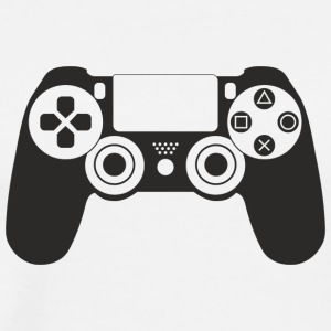 Modern Gaming Controller - Men's Premium T-Shirt