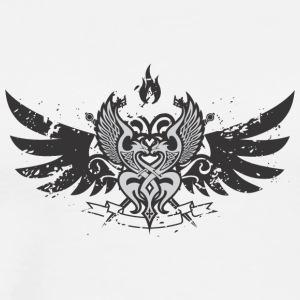 Wings emblem - Men's Premium T-Shirt