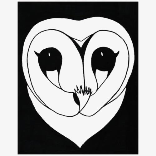 Owl Black - Men's Premium T-Shirt