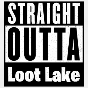 Straight Outta Loot Lake - Men's Premium T-Shirt