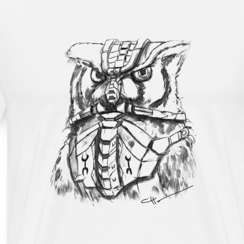 The Armored Owl - Men's Premium T-Shirt