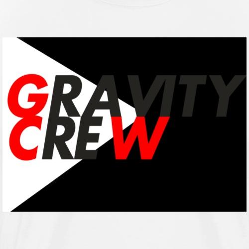 Gravity Crew Black - Men's Premium T-Shirt