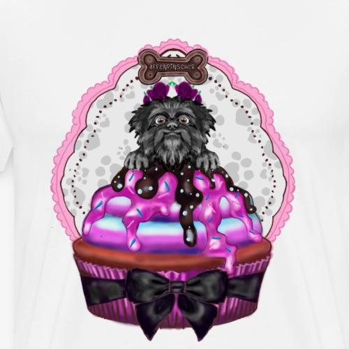 Affenpinscher Pupcake - Men's Premium T-Shirt