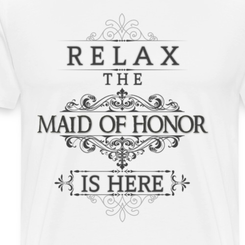 Maid of Honor - Men's Premium T-Shirt