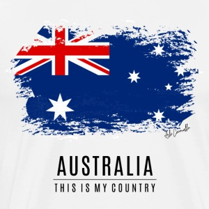 AUSTRALIA - THIS IS MY COUNTRY - Men's Premium T-Shirt