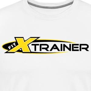 FITx Trainer 001a - Yellow - Men's Premium T-Shirt