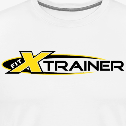 FITx Trainer 001a - Yellow - Men's Premium T-Shirt