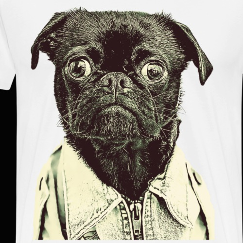 Pugzy - Men's Premium T-Shirt