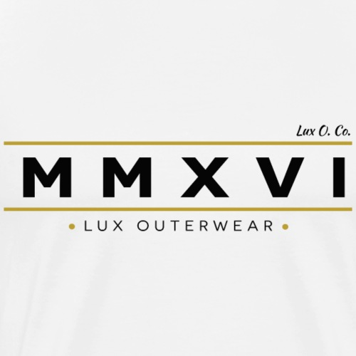 2016 LUX OUTERWEAR - Men's Premium T-Shirt