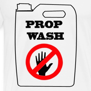 Prop Wash/Blue Skies - Men's Premium T-Shirt
